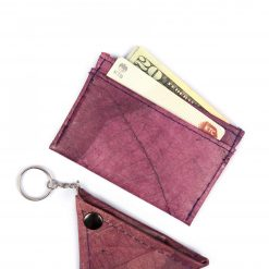 Purple Vegan Minimalist Wallet