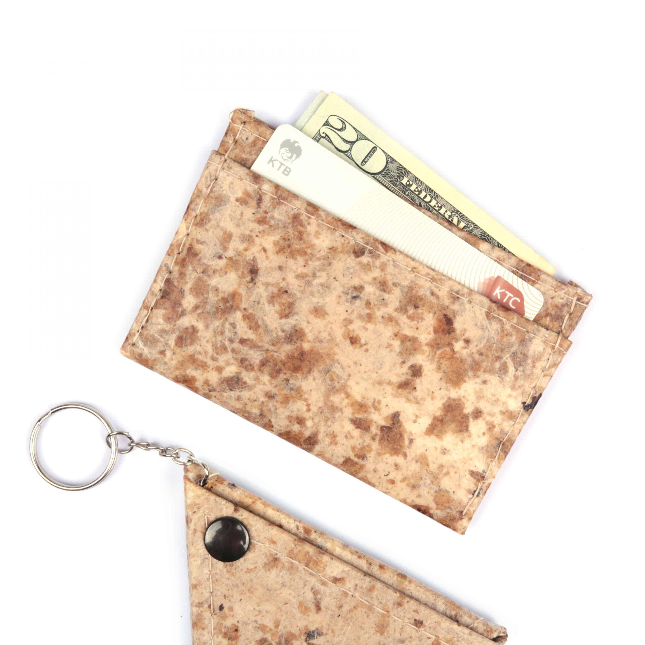 Coffee Vegan Minimalist Wallet