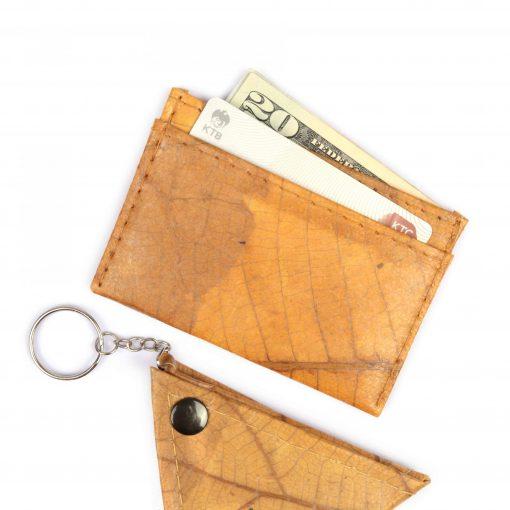 Yellow Vegan Minimalist Wallet