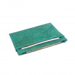 Turquoise Minimalist Vegan Leather Wallet