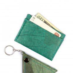 Turquoise Vegan Minimalist Wallet