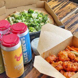 vegan restaurants la to-go food from sage vegan restaurants LA