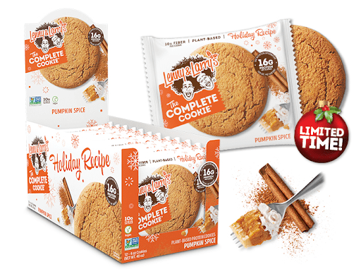 Lenny & Larry's pumpkin spice cookies vegan pumpkin spice products