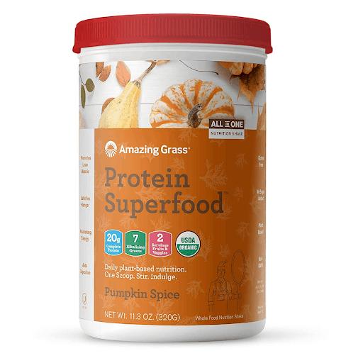 Pumpkin Spice Vegan Protein Powder vegan pumpkin spice products