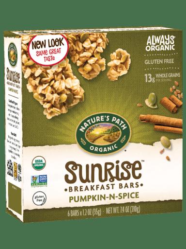 pumpkin spice vegan granola bars