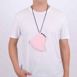 Pink Adjustable Face Mask
