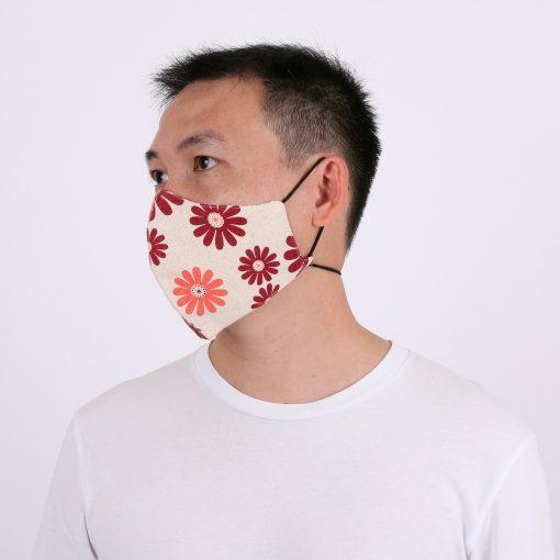 Flower Face Mask