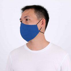 Blue Adjustable Face Mask