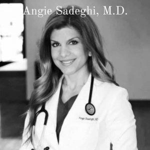 Vegan Model and Doctor Angie Sadeghi M.D.
