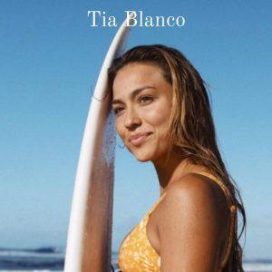 Vegan Fitness Model and Surfer Tia Blanco