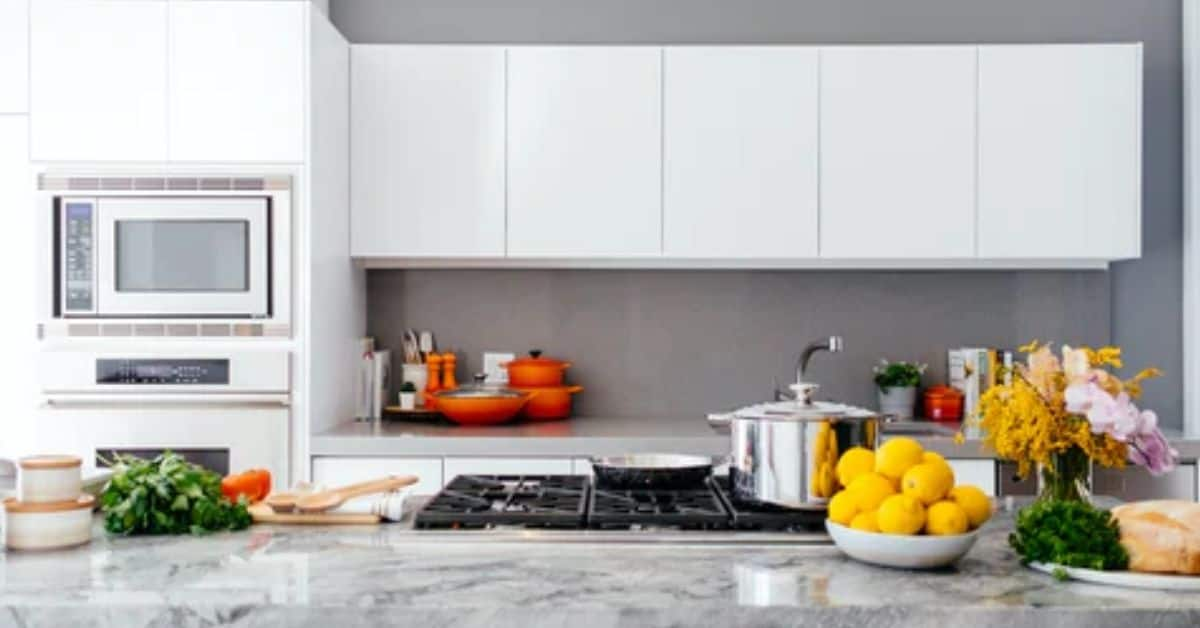 eco-friendly kitchen with lemons