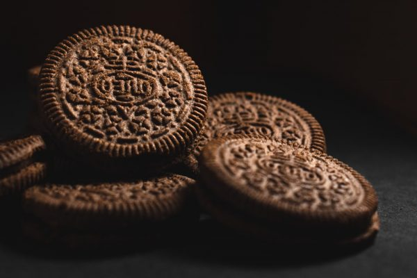 have oreos always been vegan sitting on a table